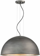 Savoy House 7-5014-3-85 Sommerton Contemporary Rubbed Zinc w/ Silver Leaf 24 Ceiling Light Pendant