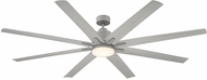 Savoy House 72-5045-8GR-GR Bluffton Modern Grey Wood LED Ceiling Fan Light Fixture