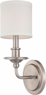 Savoy House 9-1150-1-SN Aubree Satin Nickel Wall Sconce Lighting