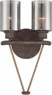 Savoy House 9-5153-2-32 Maverick Artisan Rust Wall Lighting Fixture
