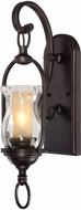 Savoy House 9-6723-1-213 Shadwell English Bronze w/ Gold Lighting Sconce