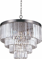 Seagull 3114006BLE-965 Carondelet Antique Brushed Nickel Fluorescent Mini Pendant Lighting Fixture