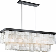 Seagull 3225005BLE-782 Corsicana Contemporary Heirloom Bronze Fluorescent Kitchen Island Light Fixture