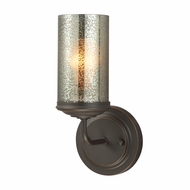 Seagull 4110401BLE-715 Sfera Contemporary Autumn Bronze Fluorescent Wall Lamp