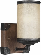 Seagull 4113301BLE-846 Dunning Stardust / Cerused Oak Fluorescent Light Sconce
