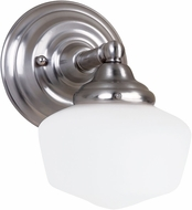Seagull 44436-962 Academy Brushed Nickel Wall Light Fixture