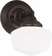 Seagull 44436BLE-782 Academy Heirloom Bronze Fluorescent 2-Light Wall Lighting Sconce