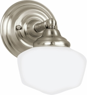 Seagull 44436EN-962 Academy Brushed Nickel LED Wall Light Sconce