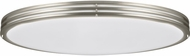 Seagull 5935091S-962 Nexus Contemporary Brushed Nickel LED Ceiling Light