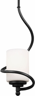 Seagull 6125201BLE-839 Goliad Blacksmith Fluorescent Pendant Lighting Fixture