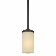 Seagull 6190401BLE-715 Sfera Contemporary Autumn Bronze Fluorescent Hanging Pendant Light