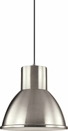 Seagull 6517401EN-962 Division Street Contemporary Brushed Nickel LED Drop Ceiling Lighting