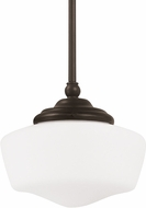 Seagull 65436BLE-782 Academy Heirloom Bronze Fluorescent Medium Hanging Light
