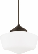 Seagull 65437BLE-782 Academy Heirloom Bronze Fluorescent Large Ceiling Light Pendant