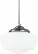 Seagull 65438BLE-962 Academy Brushed Nickel Fluorescent Extra Large Pendant Light Fixture