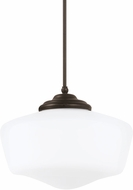 Seagull 65439BLE-782 Academy Heirloom Bronze Fluorescent Ceiling Light Pendant