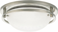 Seagull 75114EN-962 Eternity Contemporary Brushed Nickel LED Ceiling Lighting Fixture