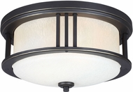 Seagull 7847902EN-71 Crowell Modern Antique Bronze LED Exterior Ceiling Light Fixture