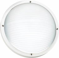 Seagull 83057EN-15 Bayside Contemporary White LED Exterior Wall Sconce Lighting
