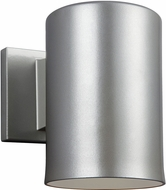 Seagull 8313801-753 Outdoor Bullets Contemporary Painted Brushed Nickel Exterior Wall Lighting Fixture