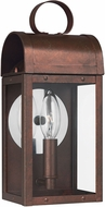 Seagull 8514801EN-44 Conroe Traditional Silver LED Outdoor Wall Sconce