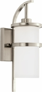 Seagull 88117EN-962 Eternity Contemporary Brushed Nickel LED Outdoor Wall Sconce Light