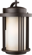 Seagull 8847901EN-71 Crowell Modern Antique Bronze LED Outdoor Lighting Wall Sconce