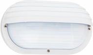 Seagull 89805EN-15 Bayside Contemporary White LED Exterior Lighting Wall Sconce