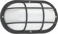 Seagull 89806EN-12 Bayside Contemporary Black LED Exterior Wall Sconce Lighting