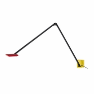 Sonneman 2052.69 Quattro Modern Red/Yellow/Black Finish 5.5  Tall LED Sconce Lighting
