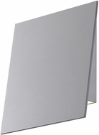 Sonneman 2363-74-WL Angled Plane Contemporary Textured Gray LED Indoor/Outdoor Wall Sconce Lighting