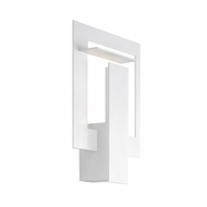 Sonneman 2364.98 Portal Modern Textured White Finish 10.75  Tall LED Lighting Sconce