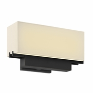 Sonneman 2460.51 Aspen Black Brass Finish 10.25  Wide LED Wall Mounted Lamp