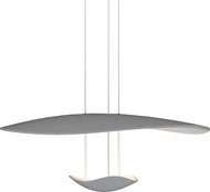 Sonneman 2667-18 Infinity Reflections Contemporary Dove Grey LED Hanging Light Fixture