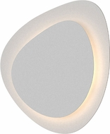Sonneman 2690-98 Abstract Panels Modern Textured White LED Wall Sconce