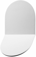 Sonneman 2712-98-WL Tab Modern Textured White LED Indoor/Outdoor Wall Mounted Lamp