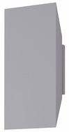 Sonneman 2716-74-WL Chamfer Contemporary Textured Gray LED Indoor/Outdoor Wall Sconce