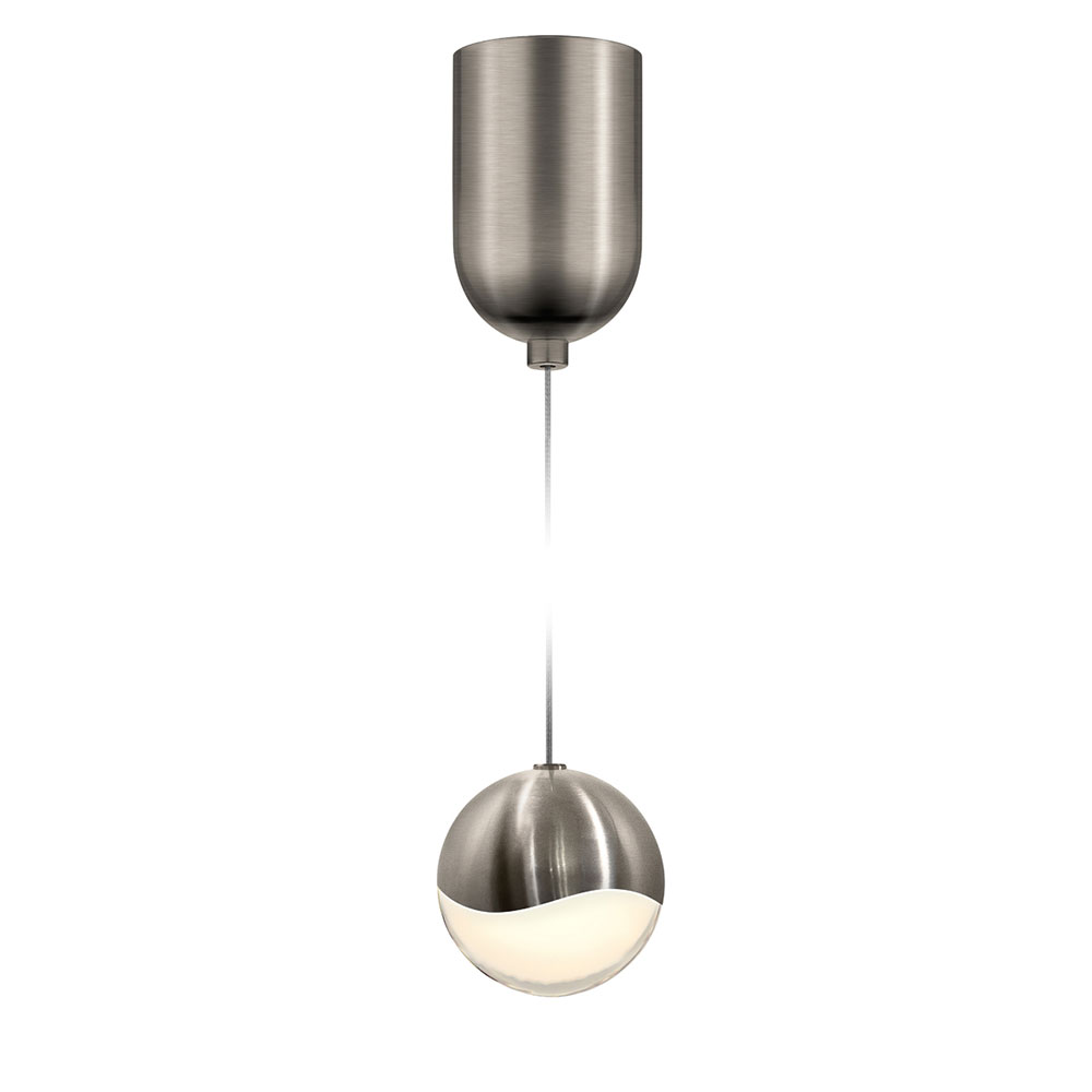 sonneman 2911 13 med grapes contemporary satin nickel led