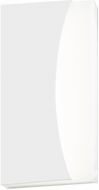 Sonneman 7218-98-WL Nami Contemporary Textured White LED Indoor/Outdoor Wall Light Sconce