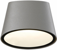 Sonneman 7220-74-WL Elips Contemporary Textured Gray LED Indoor/Outdoor Wall Sconce