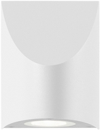 Sonneman 7222-98-WL Shear Contemporary Textured White LED Indoor/Outdoor Light Sconce