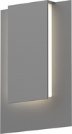 Sonneman 7264-74-WL Reveal Contemporary Textured Gray LED Outdoor Wall Sconce Lighting