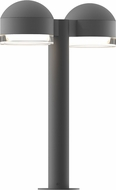 Sonneman 7306-DC-FH-74-WL REALS Contemporary Textured Gray LED Outdoor Pathway Lighting