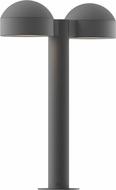 Sonneman 7306-DC-PL-74-WL REALS Contemporary Textured Gray LED Outdoor Residential Landscape Lighting
