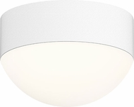 Sonneman 7309-XX-DL-98-WL REALS Modern Textured White LED Exterior Flush Mount Ceiling Light Fixture
