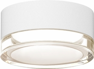 Sonneman 7309-XX-FH-98-WL REALS Contemporary Textured White LED Outdoor Overhead Lighting Fixture