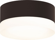 Sonneman 7309-XX-FW-72-WL REALS Modern Textured Bronze LED Exterior Ceiling Lighting