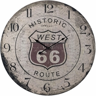 Sterling 118-036 Route 66 Printed Route 66 Clock