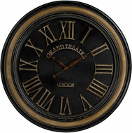 Sterling 130-006 Grand Theatre Berkshire Large Clock With Distressed Hand painted Frame