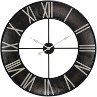 Sterling 171-014 Bronze With White Open Ring Wall Clock